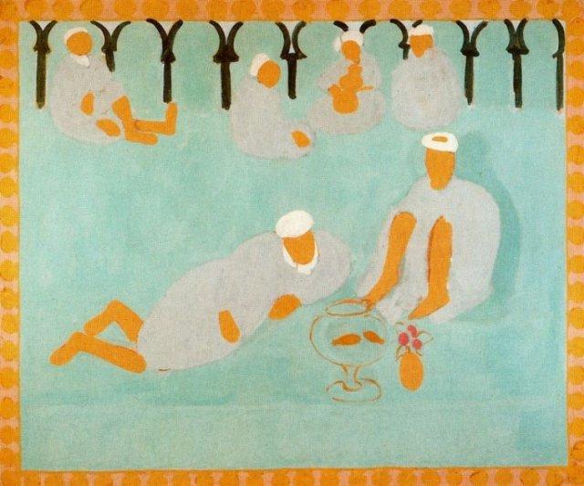 Matisse - Le café arabe