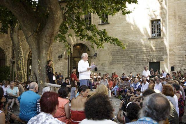 Badiou à Avignon
