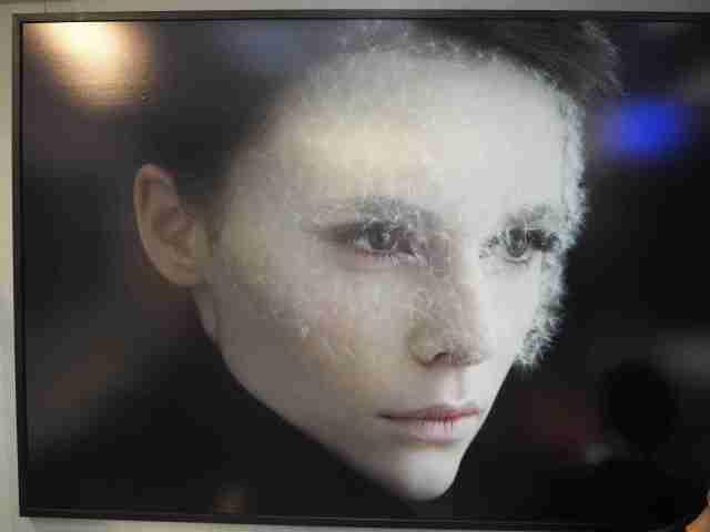photo Isabelle Chapuis, exposition Dandelion, Institut Français de Pékin